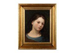 "Peter Fendi Circle, ""Girl Portrait"""
