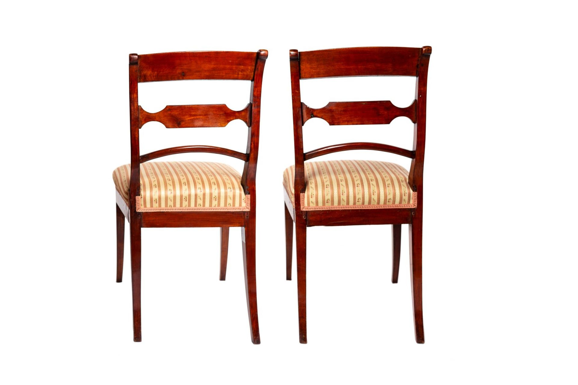 Two Biedermeier chairs - Image 3 of 4