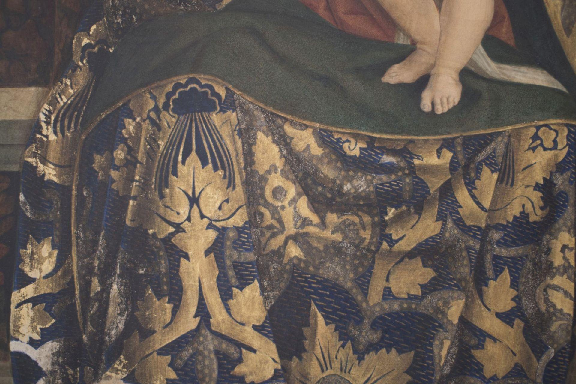 "After an original Opvus Caroli Crivelli Venet 1487 ""Madonna with Child"" - Image 6 of 8"