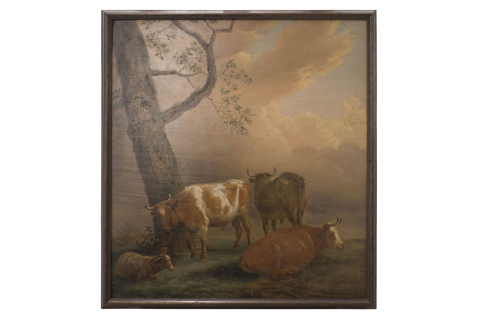 """Dutch painter end of the 18th century """"Pastoral"""""""