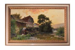 "Moras Walter ""Watermill near Marburg"" Berlin 1925"