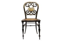 Decorative chair, French Chinoiserie