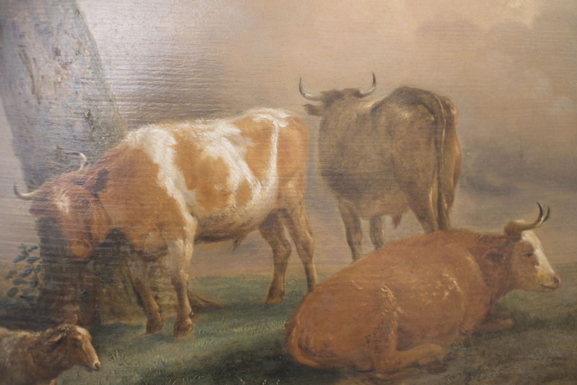 """Dutch painter end of the 18th century """"Pastoral"""" - Image 2 of 4"""