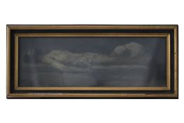 """Carl Theo von Piloty (1826-1886) attributed """"Lament for the Dead"""""""