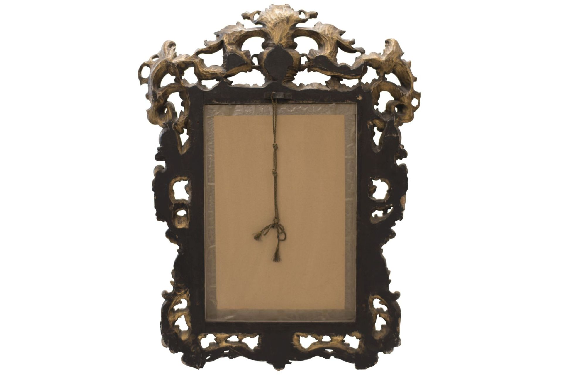 Baroque style salon mirror, 19th century - Image 6 of 6