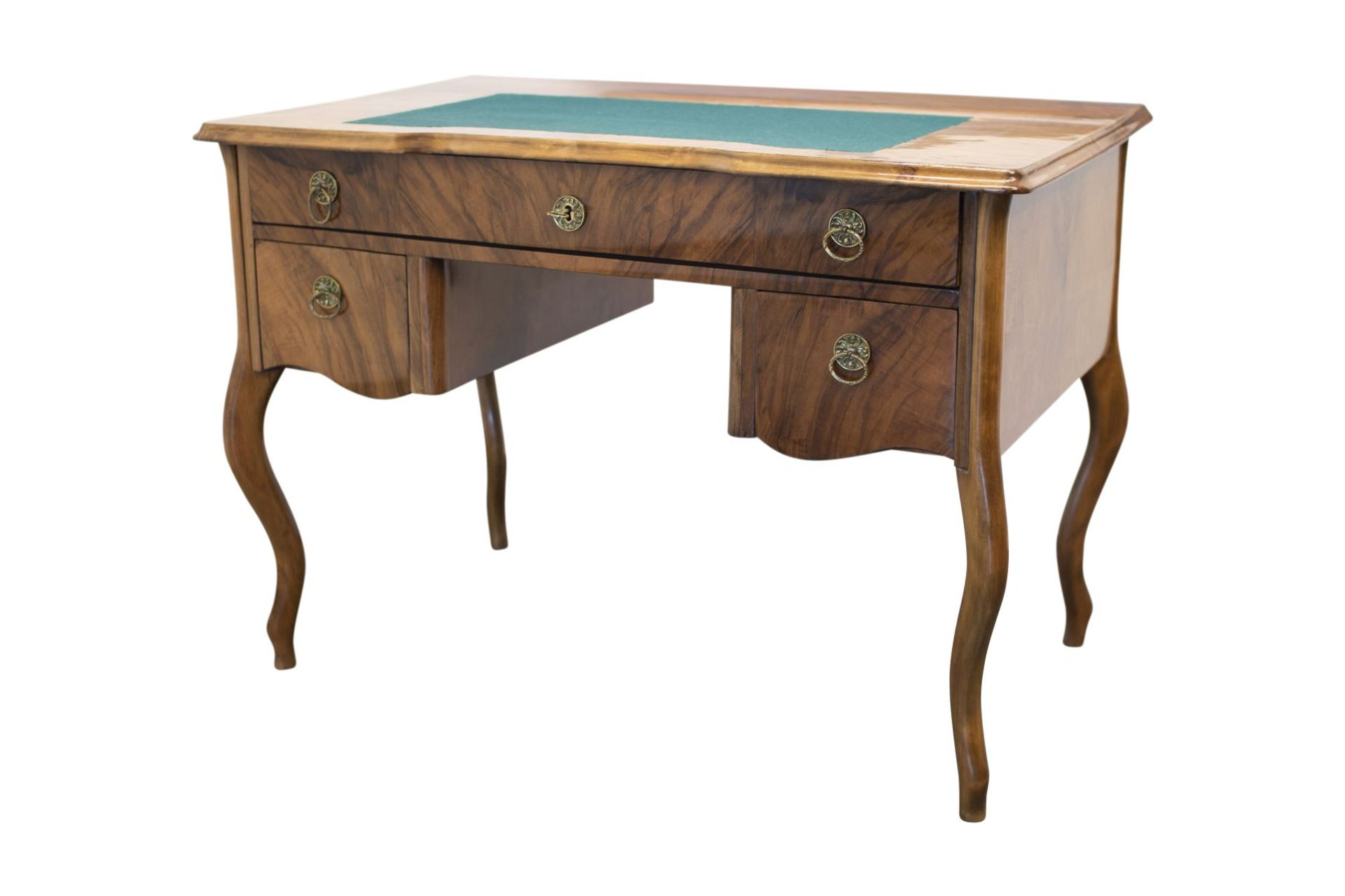 Biedermeier style desk, second half of the 19th century - Image 3 of 4