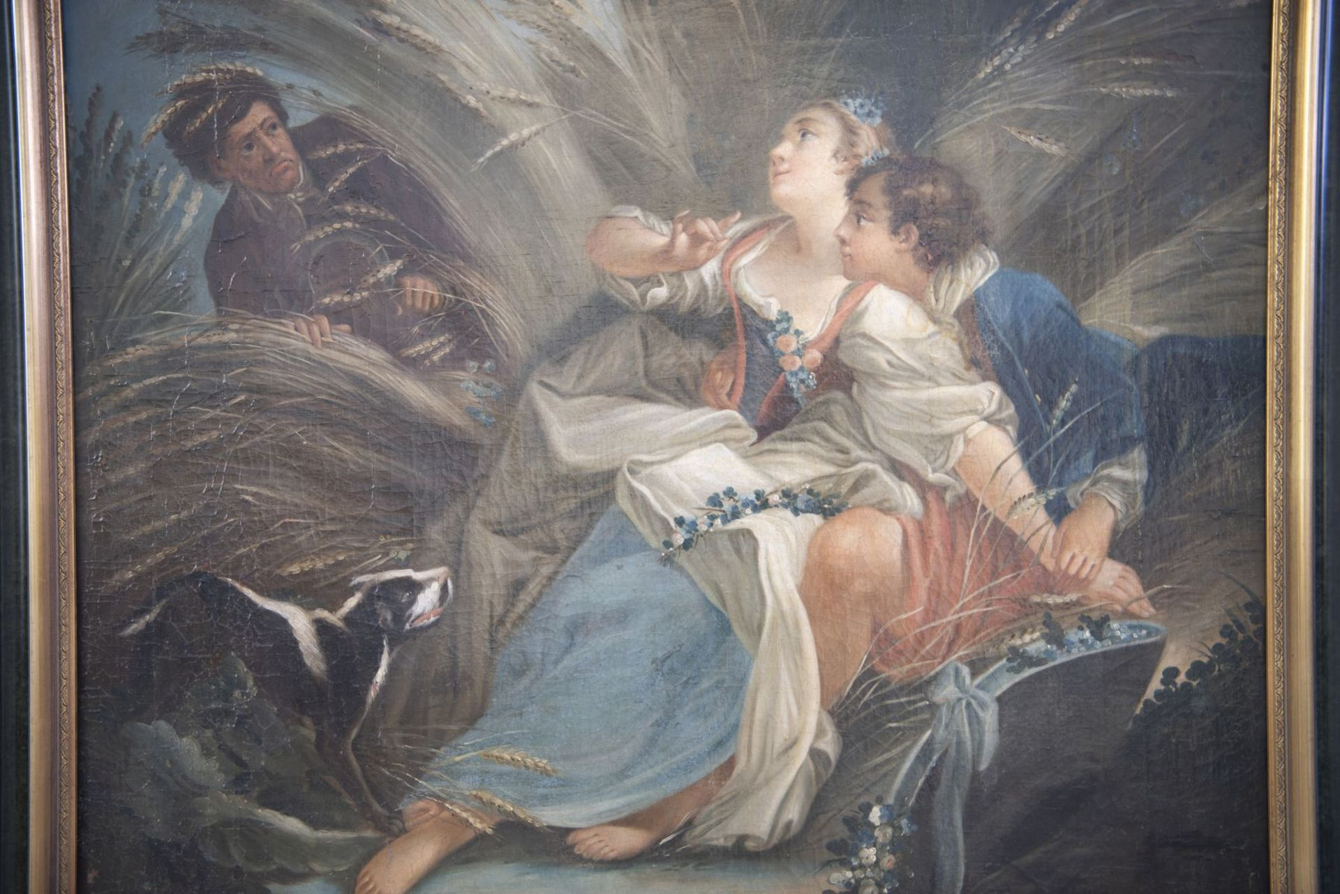 """France 18th century """"Caught lovers"""" - Image 3 of 7"""