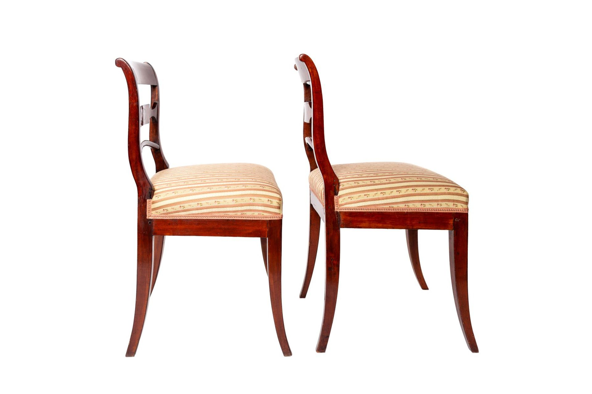 Two Biedermeier chairs - Image 2 of 4