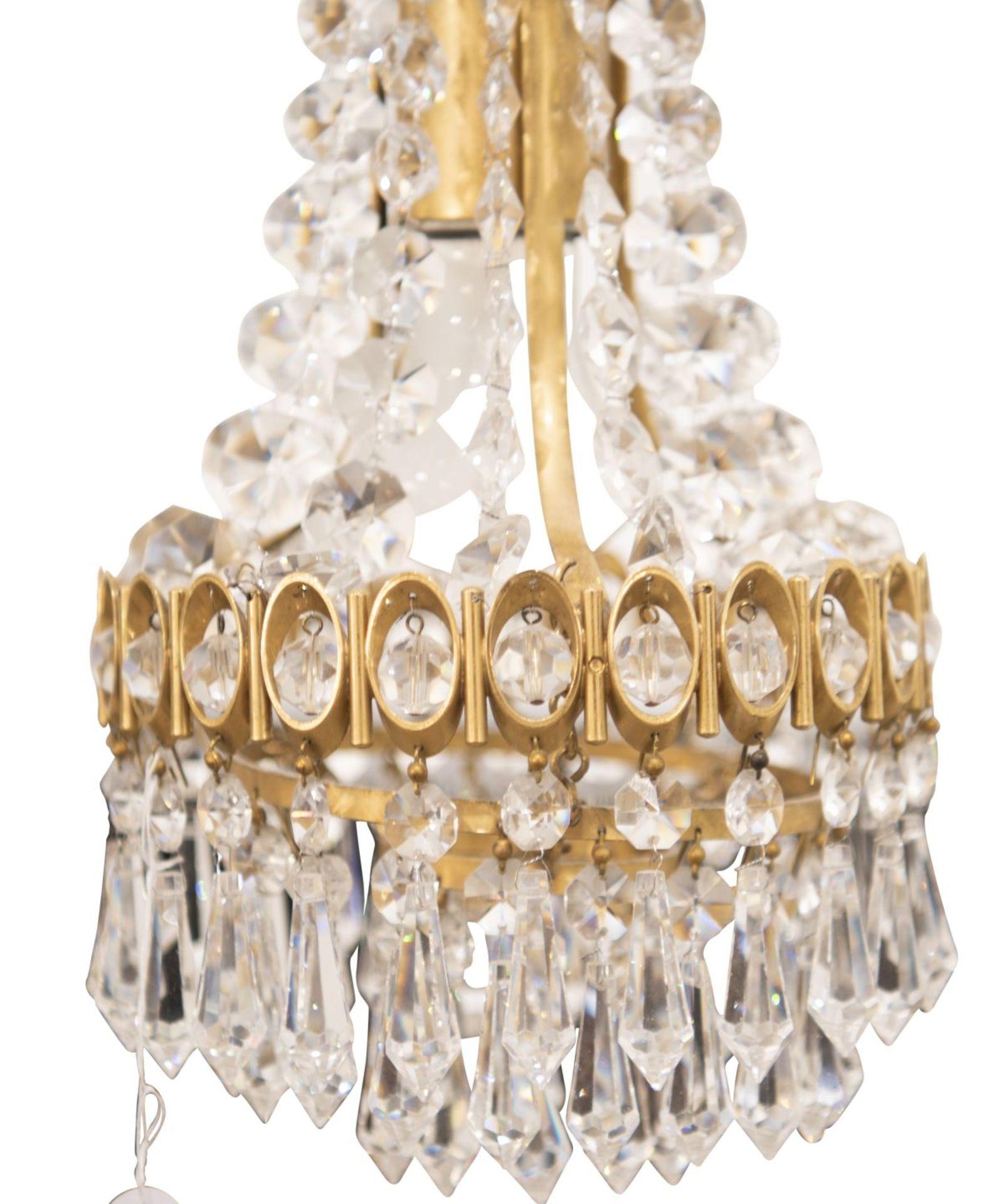 Crystal chandelier - Image 4 of 4