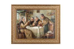 """Attributed to Carl Siegfried Stoitzner (1866-1943), 1920 """"Der gute Tropfen"""" (The Good Drop)"""