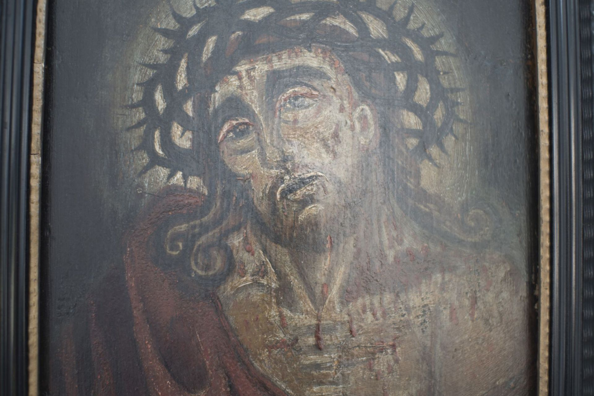 "Artist of the 18th century ""Ecce Homo"" - Image 2 of 4"