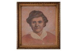 "Portrait of companion ""Paula"""