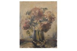 "Painter around 1920 ""Flowers in vase"""