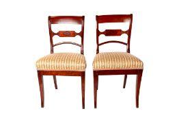 Two Biedermeier chairs