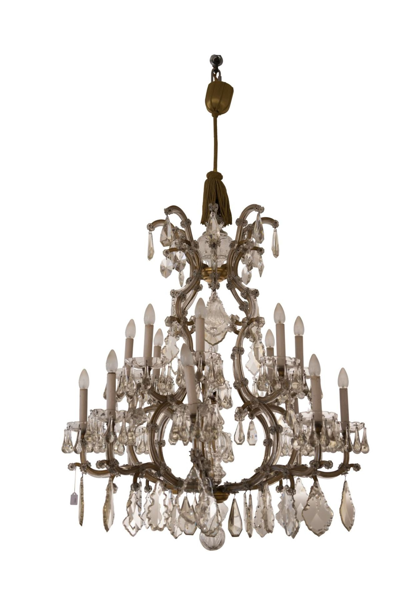 "Decorative Salon Chandelier ""Maria Theresa Style"""