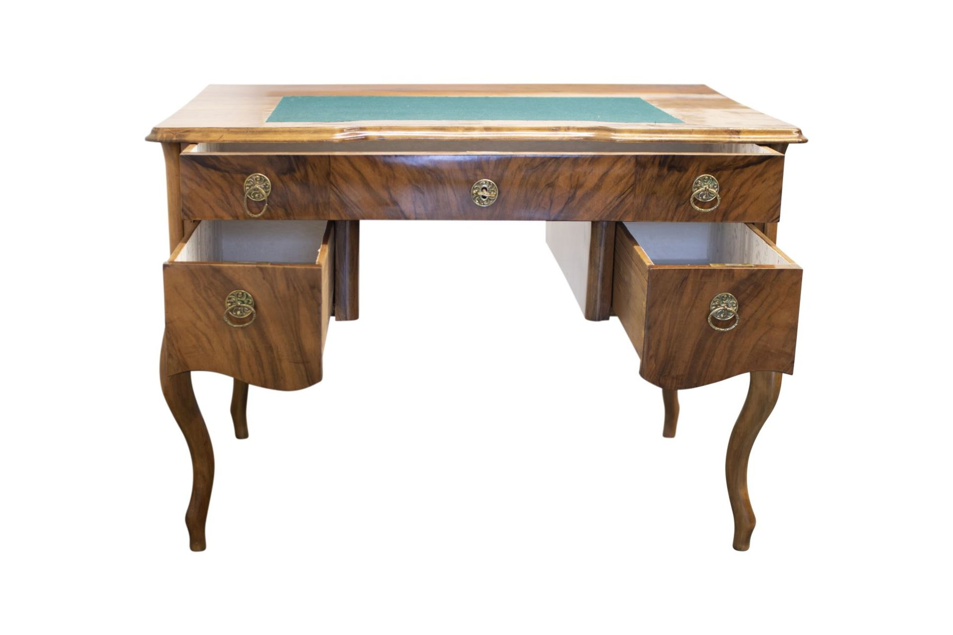 Biedermeier style desk, second half of the 19th century - Image 2 of 4
