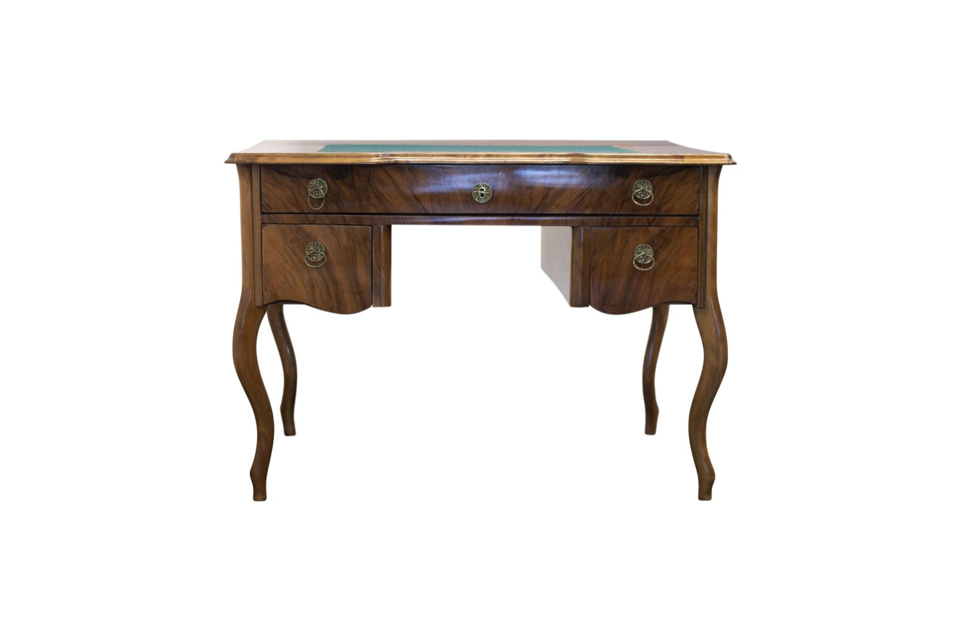 Biedermeier style desk, second half of the 19th century - Image 4 of 4