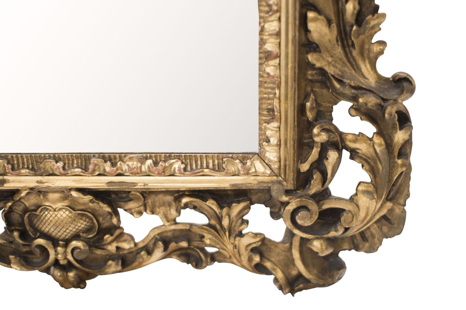 Baroque style salon mirror, 19th century - Image 5 of 6