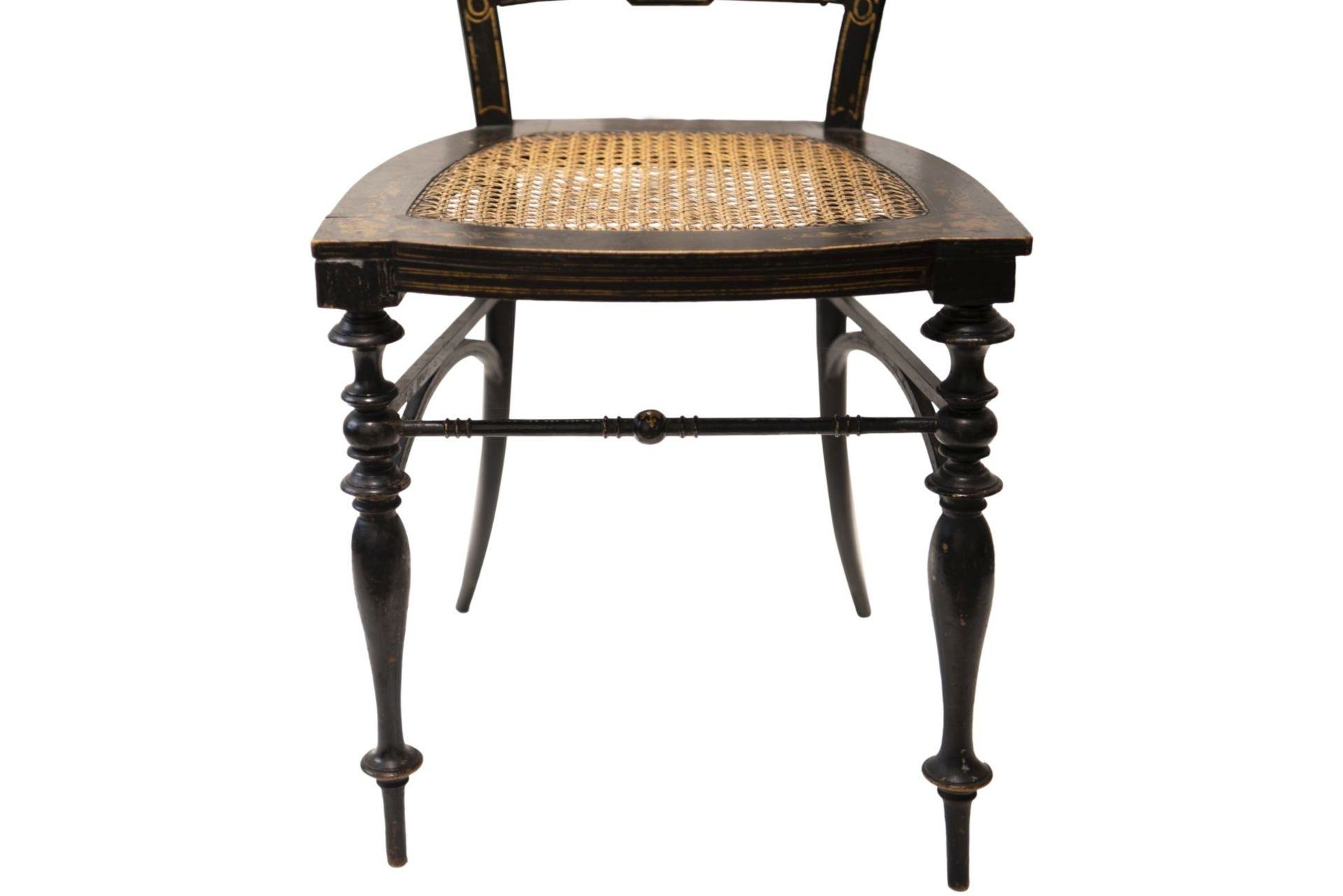 Decorative chair, French Chinoiserie - Image 5 of 7