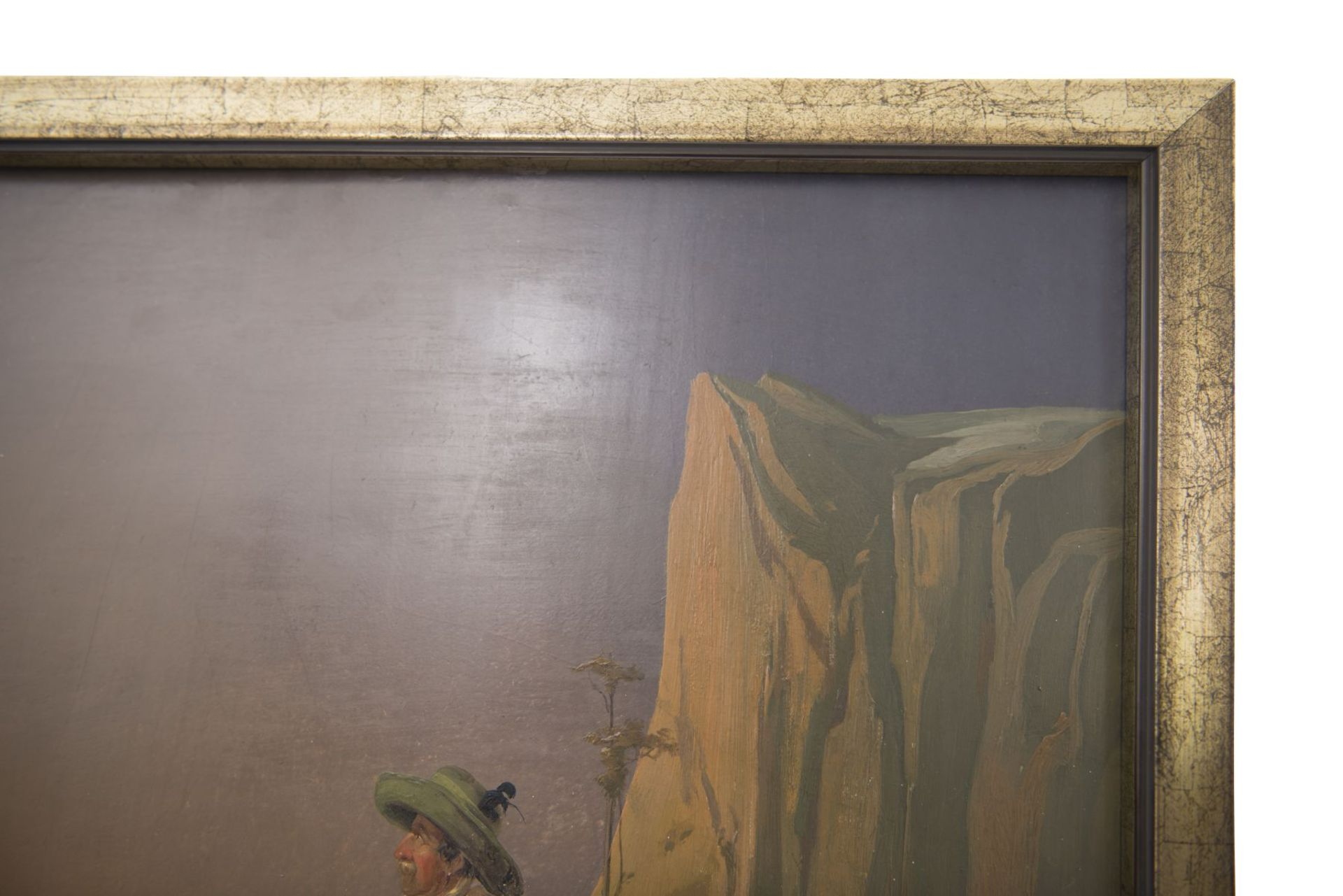"""Painter from the circle Friedrich Gauermann """"Hunter in the high mountains"""" - Image 3 of 9"""