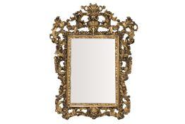Baroque style salon mirror, 19th century