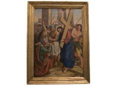 "Italian Painter ""Cloister of Christ"""