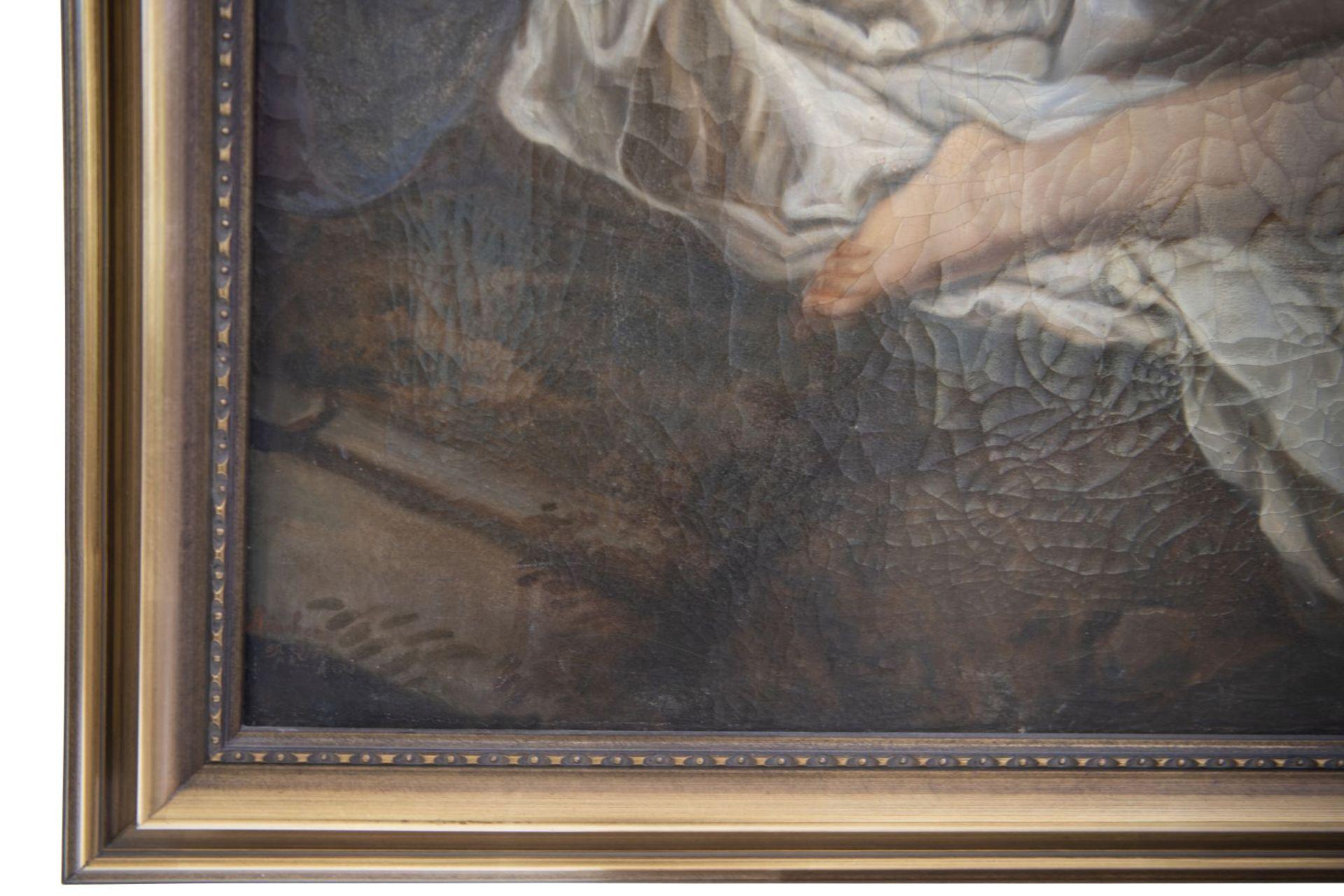 "After Jean Baptiste Sauterre, France around 1800 ""Susanna in the bath"" - Image 4 of 7"