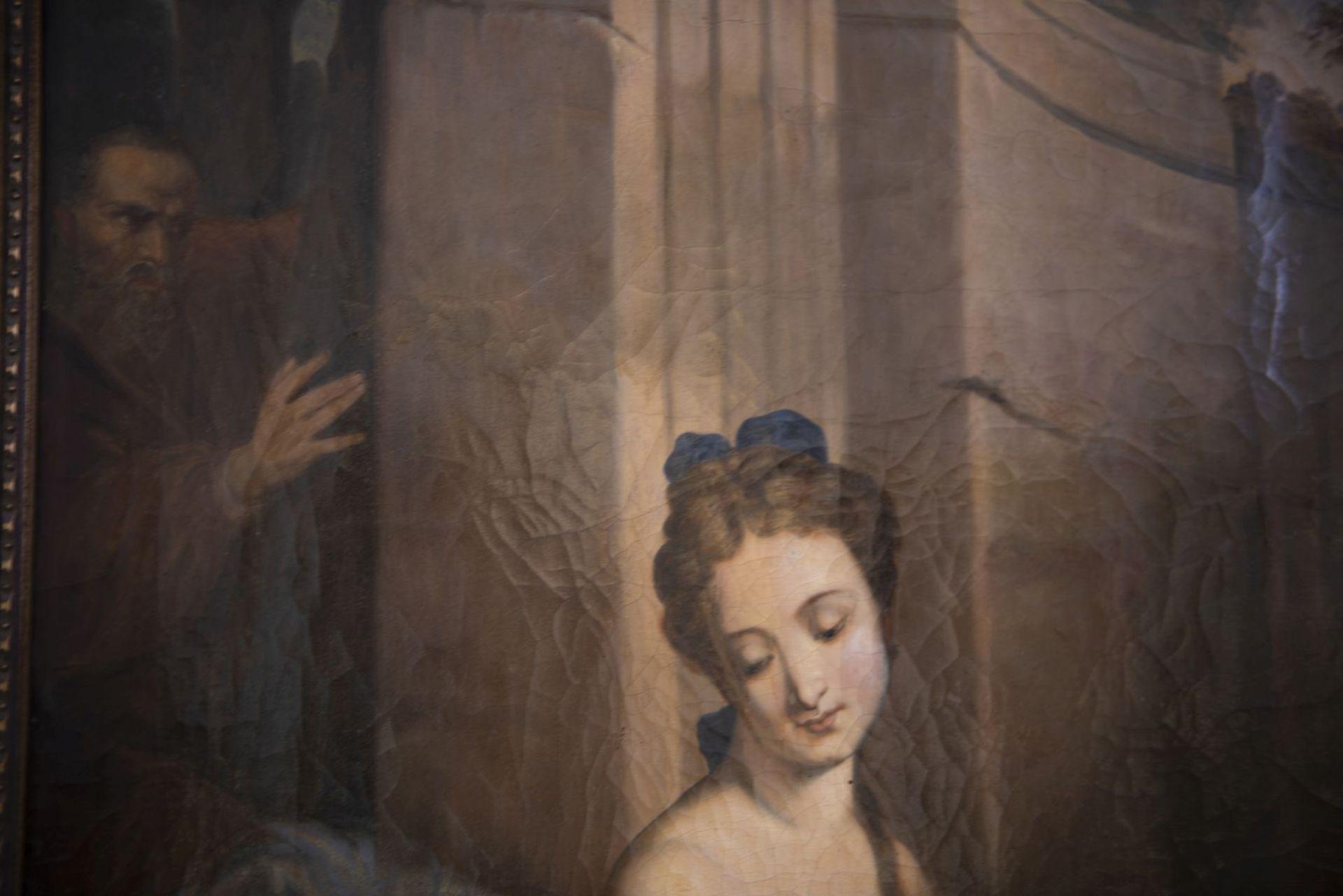 "After Jean Baptiste Sauterre, France around 1800 ""Susanna in the bath"" - Image 5 of 7"