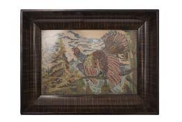 """Austrian Artist 20th Century """" Gobelin in Frame"""""""