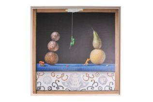 "Jose Vicente (1977) ""Unstable equilibrium in still life""."