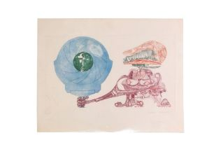 "Peter Patzak (1945 - 2021) ""Abstract Composition"""