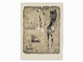 """Paul Wunderlich """"Anatomies 61"""" 1961"""