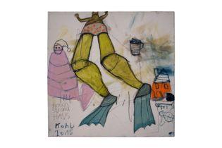 "Peter Kohl(1971) "" Frog beach house"" 2015"