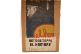 el hombre, Hubert Pfaffenbichler* (1942-2008), napkin 1972-73