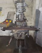 Bridgport Milling Machine with Tooling