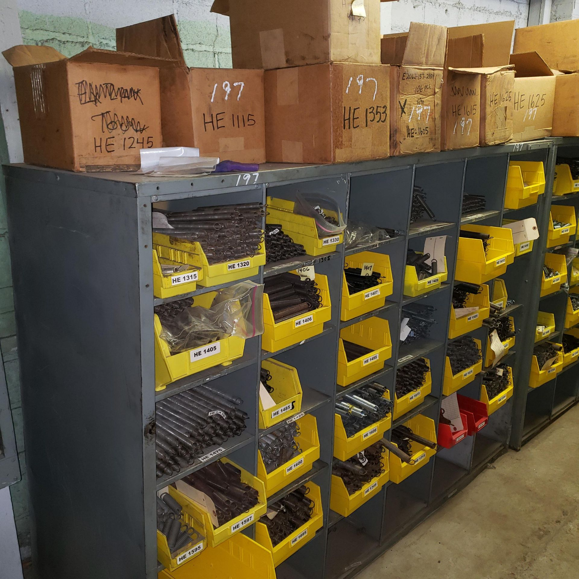 Assortment of Various Spring Stock/Inventory