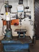 Dynamic Radius Drill Press w/ Table. Type YMR-840