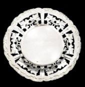 Round Basket | Austrian 800 Silver | Ø 13cm