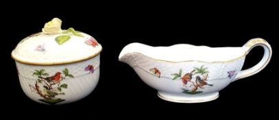 Herend | Saucier & Pot | Rothschild Bird