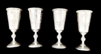 4 Goblet | Poland .875 Silver
