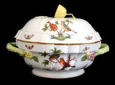 Herend | Rothschild Bird | Soup Tureen