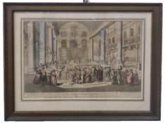 Jewish Purim | Copper Engraving