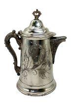 Silver Plated Coffee Pot   Sheffield Plate USA