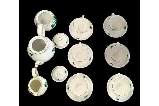 AugarteAugarten   Maria Theresia   17 Piece Coffee Set - Image 2 of 6