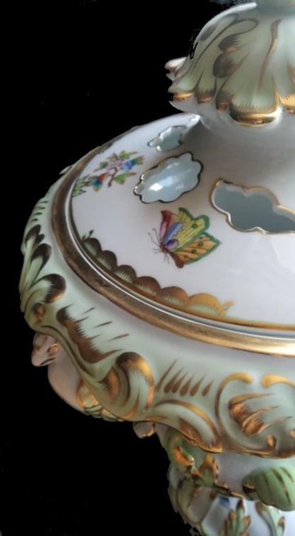 Herend   Monumental Vase   Victoria - Image 4 of 7