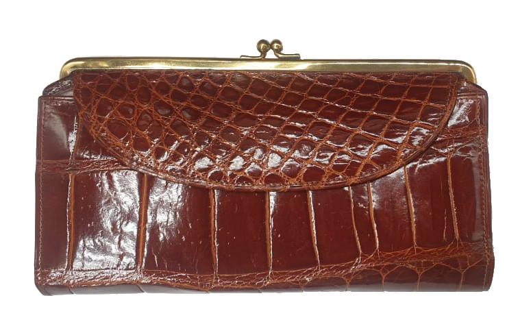 Crocodile Bag | Maroon - Image 8 of 8