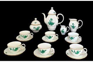Augarten |18 Piece Mocca Set | Maria Theresia
