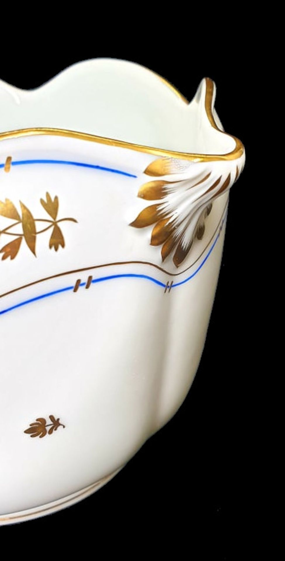 Herend | Cache Pot | Batthyany Blue - Image 3 of 6