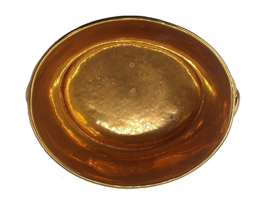 Gmundner   Cache Pot   Gilt - Image 3 of 5