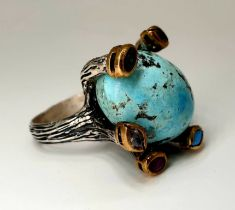 Silver Ring | Turquoise